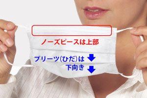 付け方 使い捨て マスク の
